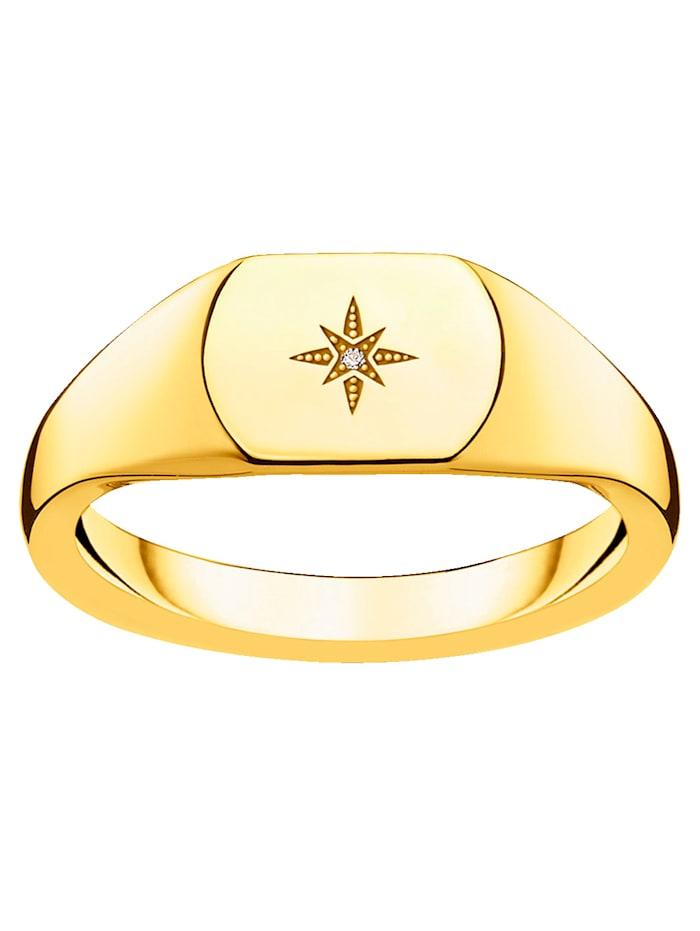 Damenring mit Diamant Thomas Sabo D_TR0038-924-14