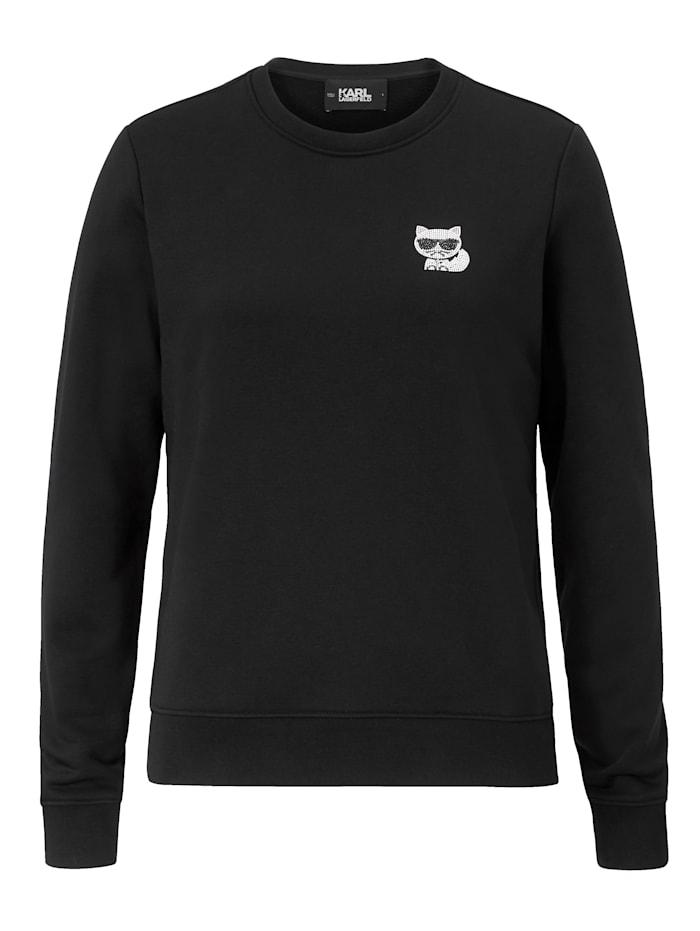 Karl Lagerfeld Sweatshirt, Schwarz