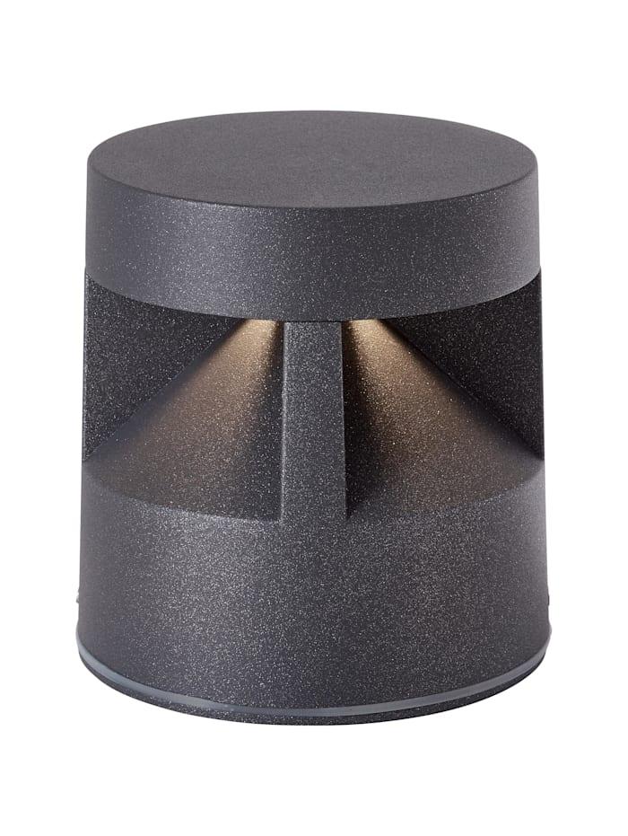 AEG Winslow LED Außensockelleuchte 12cm anthrazit, anthrazit