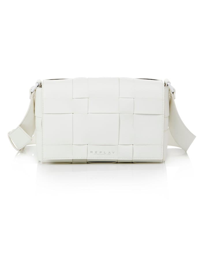 REPLAY Tasche, off-white