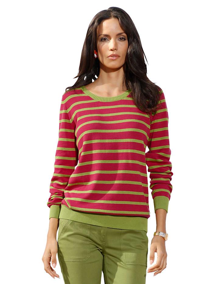 Pullover im Streifendessin