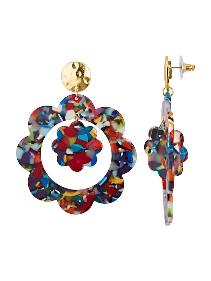Ohrstecker, Multicolor