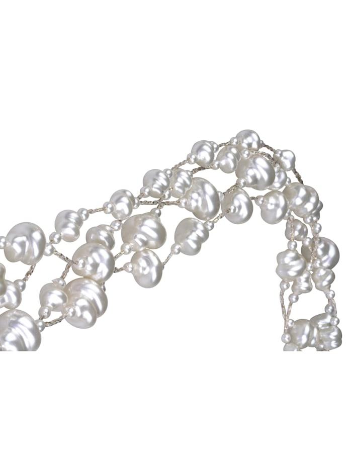 Kurze Kette Cheyney mit vielen Perlen