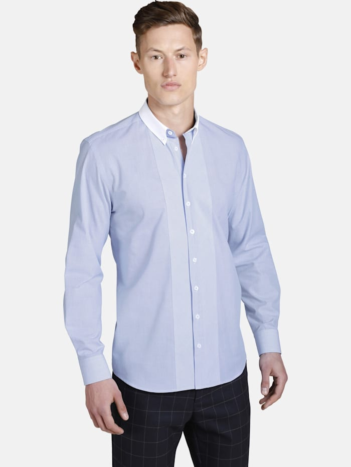 Shirtmaster Hemd whysoblue