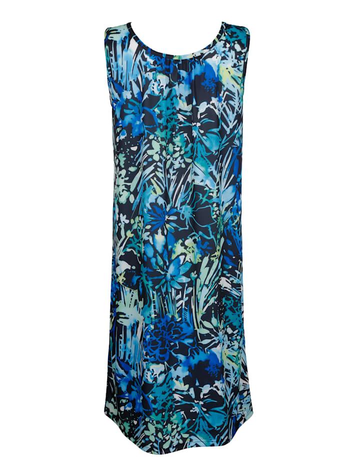 Strandkleid im modischen Druckdesign