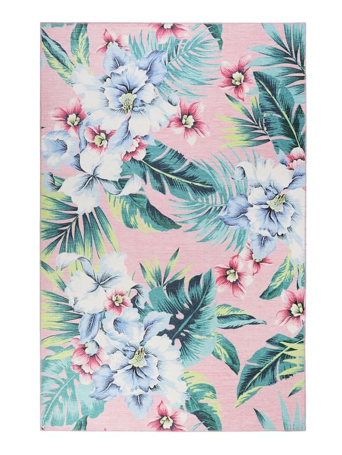 Accessorize Accessorize Teppich Tropical Orchid, rosa