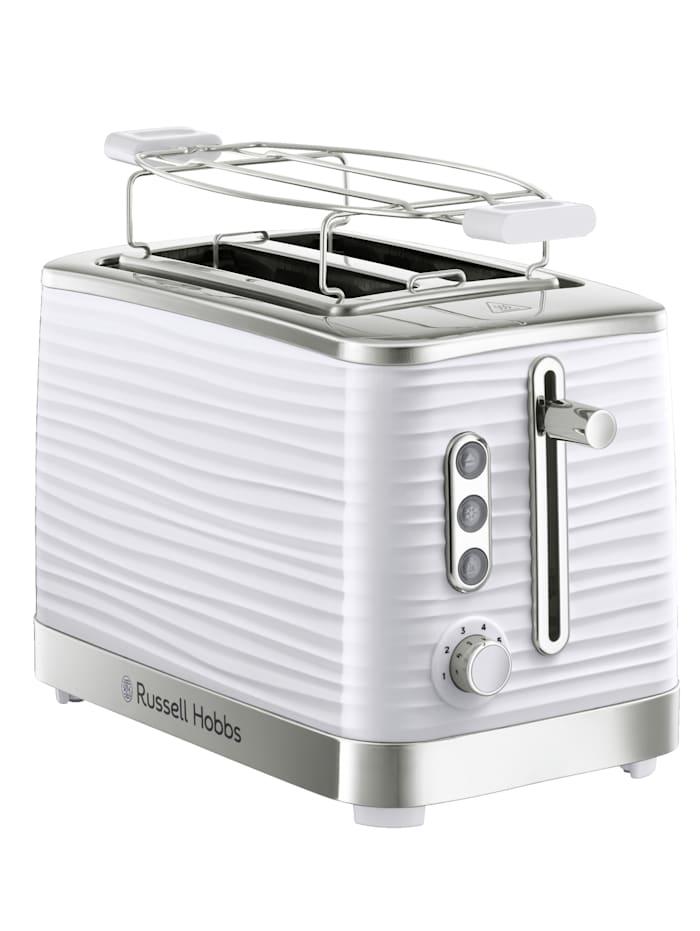 Russell Hobbs RUSSELL HOBBS Inspire Black Toaster, Weiß