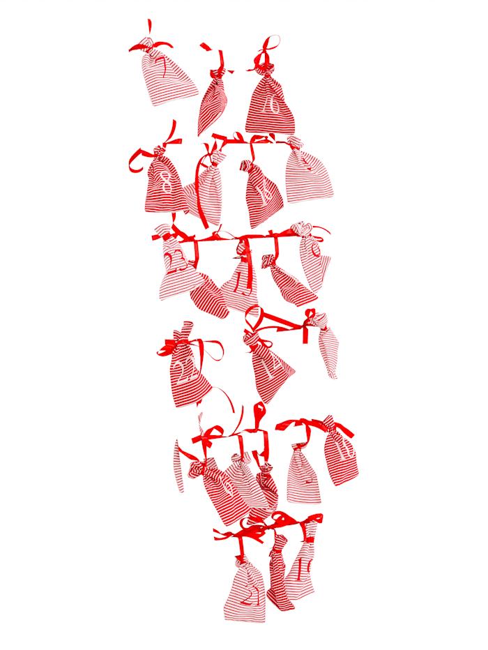 Adventskalender-Set mit Leiter