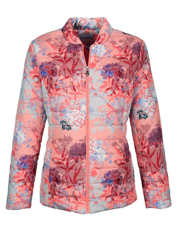 Kabátek s květinovým potiskem