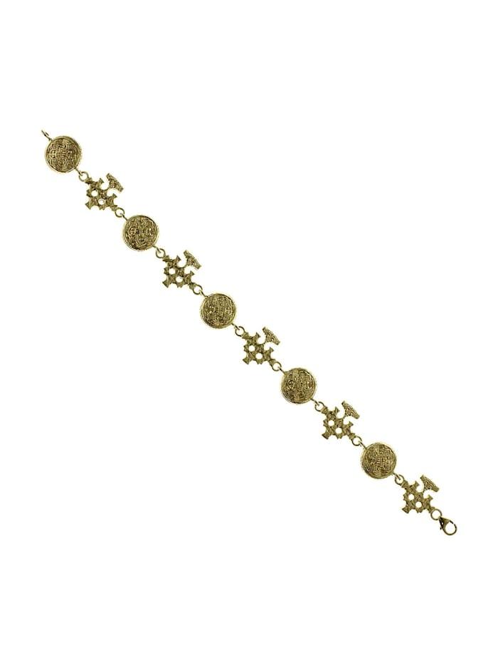 OSTSEE-SCHMUCK Armband - Hiddensee - Silber 925/000, vergoldet - ohne Stein, gelb