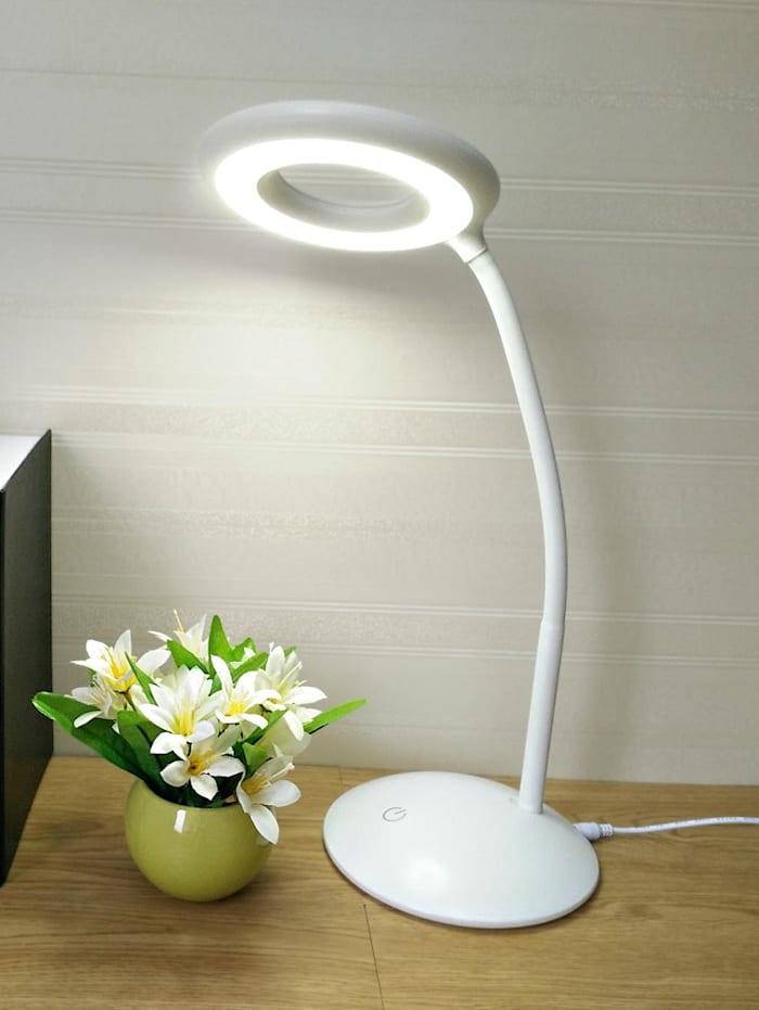 Led-bureaulamp met loep
