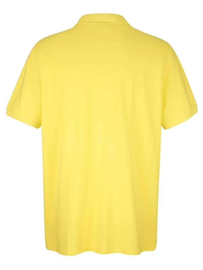 Poloshirt mit Paisleydruck-Details