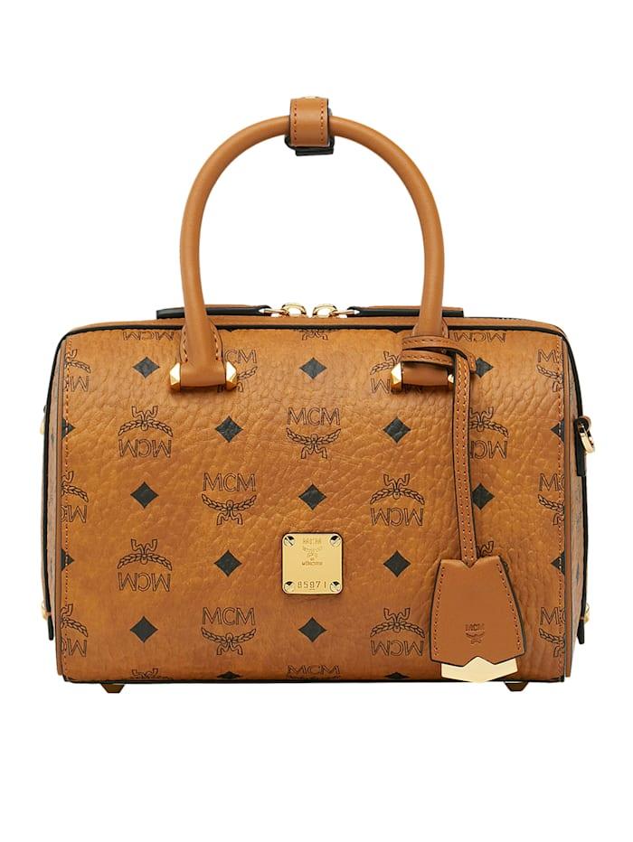 MCM Bowling-Bag, cognac