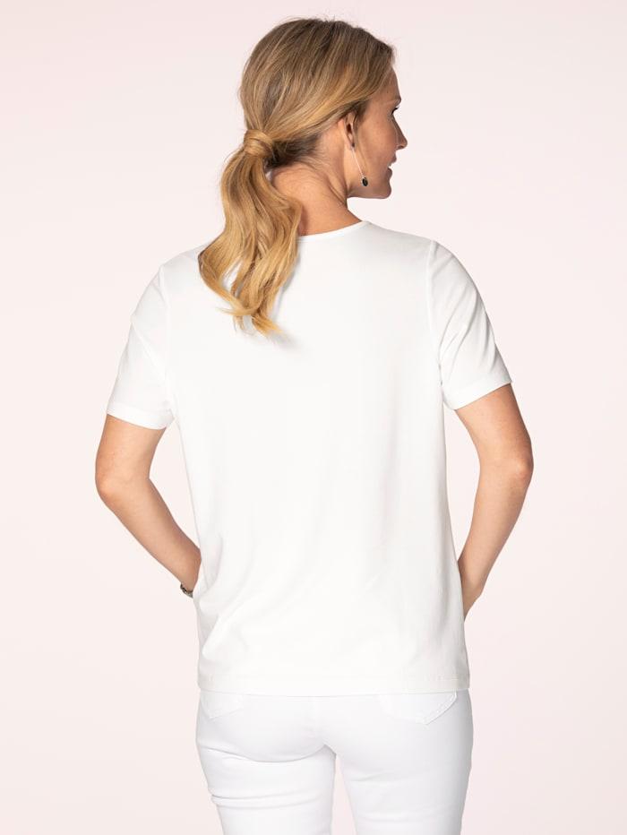 Shirt van fijne jersey