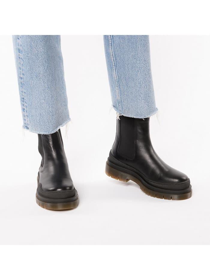 Cream Chelsea Boots