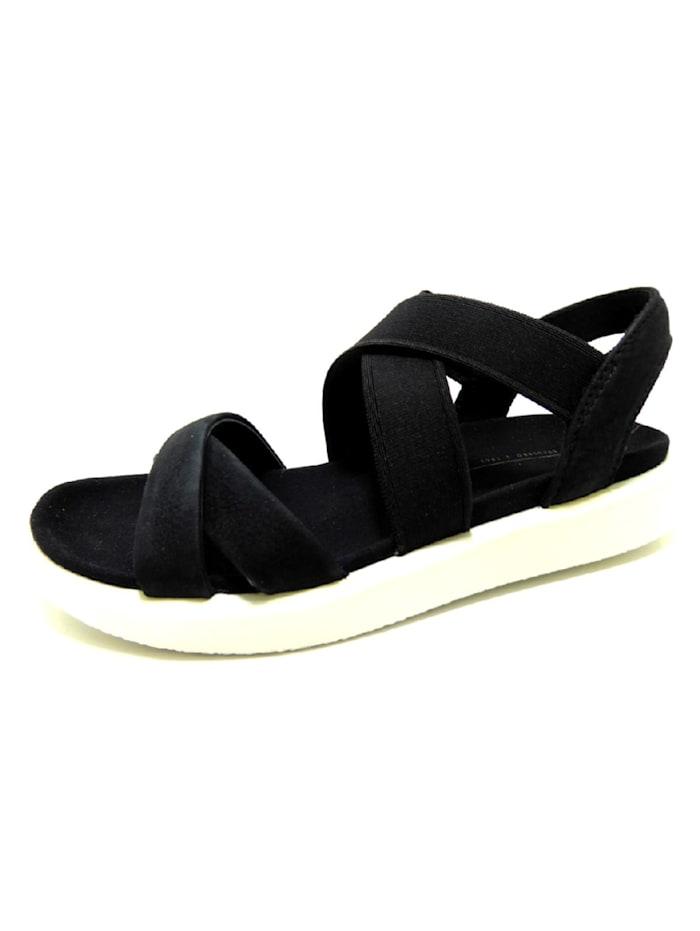Ecco Sandale, schwarz