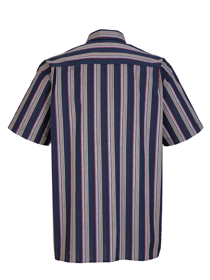 Hemd in Seersucker-Qualität