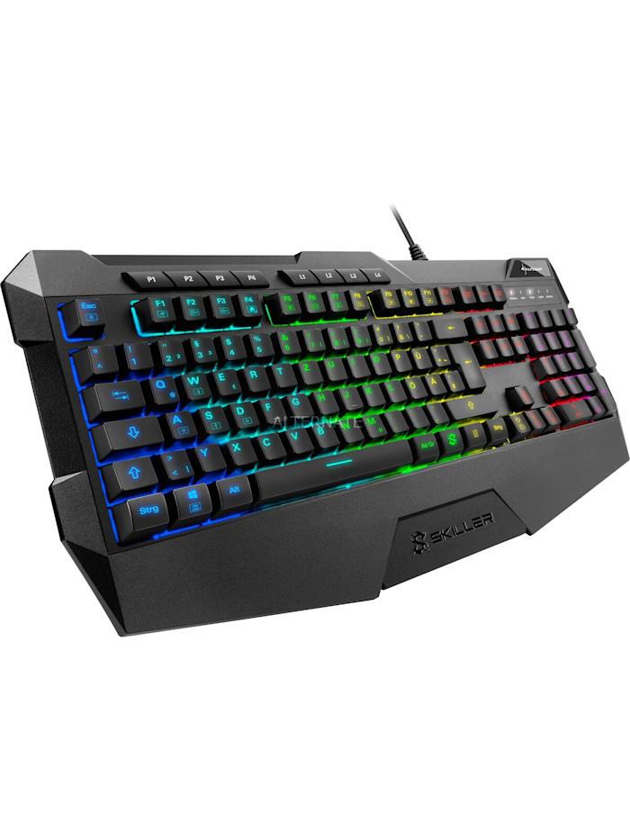 Sharkoon Gaming-Tastatur SKILLER SGK4, Schwarz