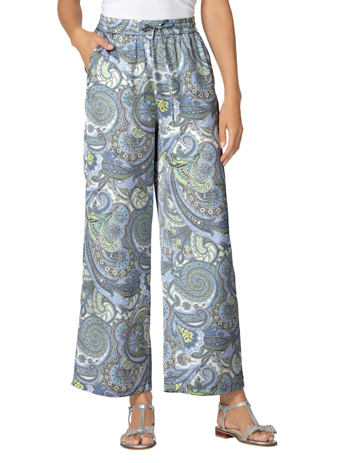 AMY VERMONT Hose mit Paisley-Muster, Multicolor