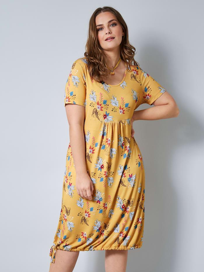 Jerseykleid mit floralem Druck