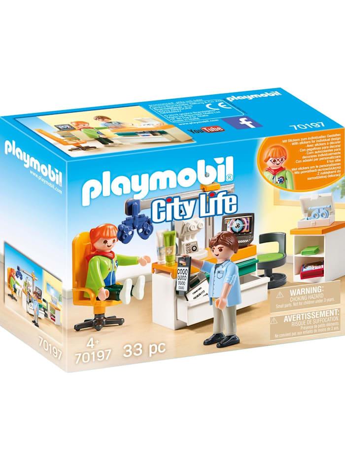 PLAYMOBIL Konstruktionsspielzeug Beim Facharzt: Augenarzt, Bunt