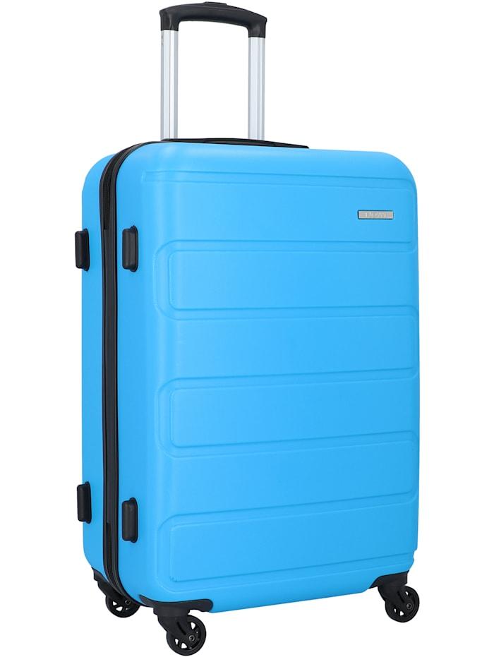 NOWI Kairo 4-Rollen Trolley 65 cm, skyblue