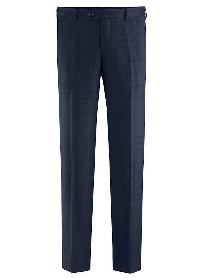 Babista Premium Pantalon de costume en laine en laine vierge mélangée, Bleu