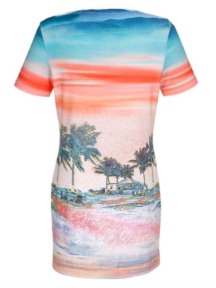 Strandkleid mit Fotodruck
