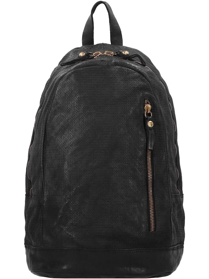 Campomaggi Rucksack Leder 41 cm Laptopfach, black
