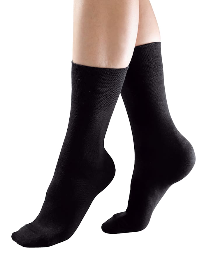 Ponožky s komfortným ukončením vhodných aj pre diabetikov
