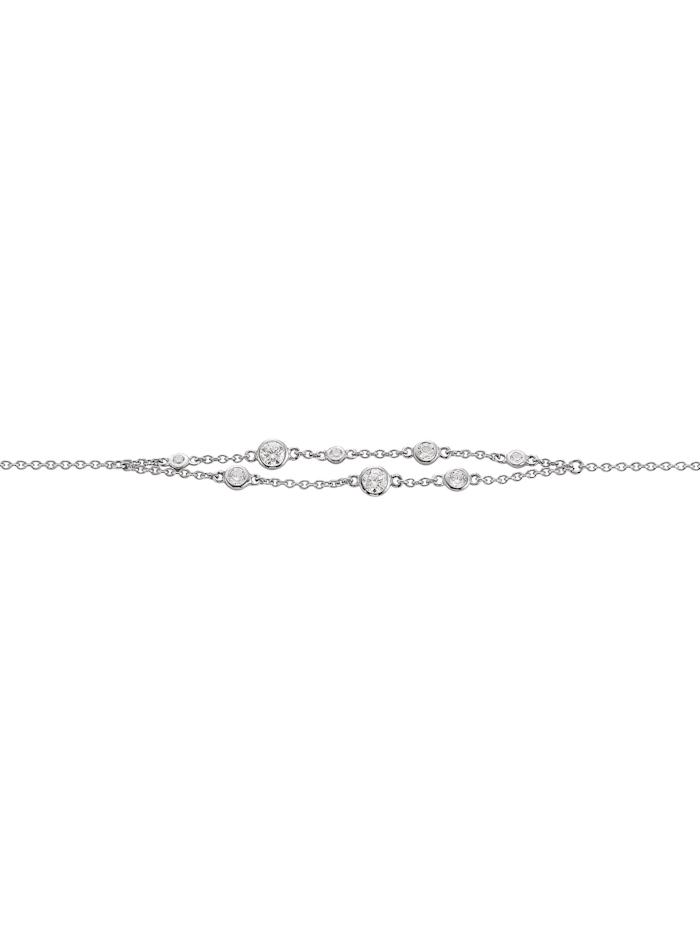 Viventy Damen-Armband Silber, Silberfarben