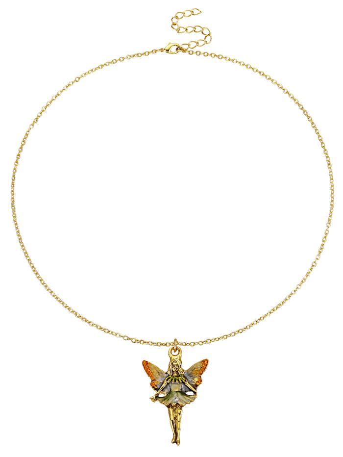 Golden Style Hanger 'Fee' met ketting, Multicolor
