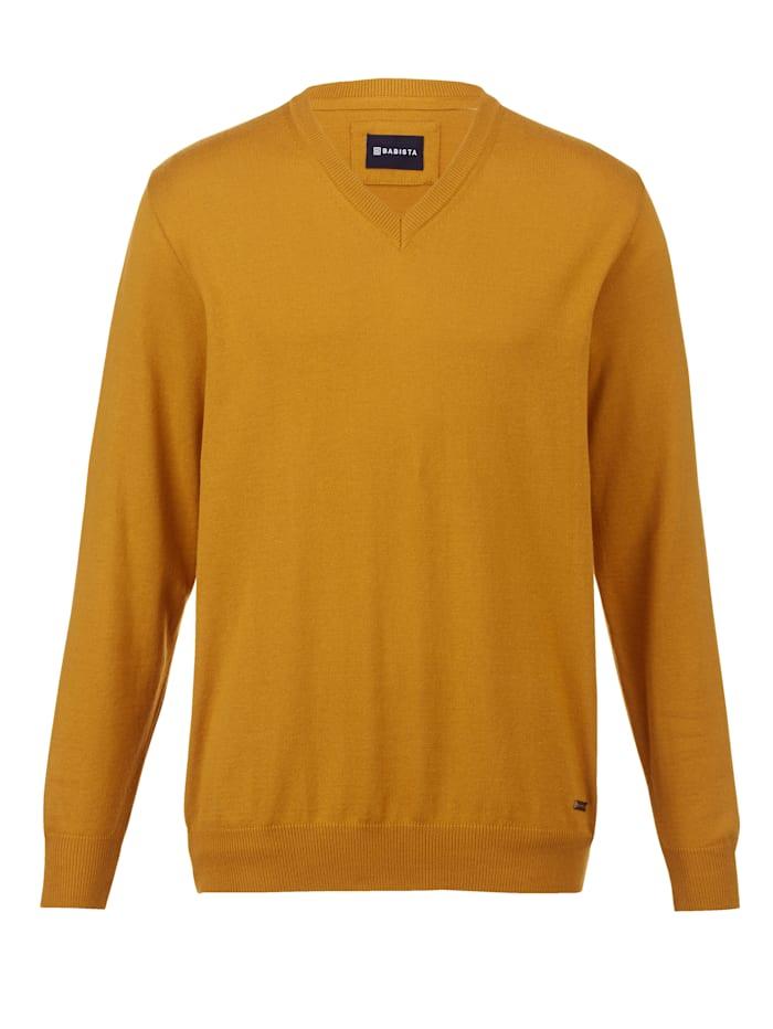 BABISTA Pullover in pflegeleichter Qualität, Senfgelb