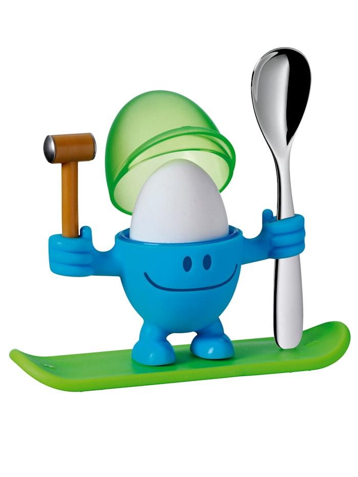 WMF Eggeglass -Mc Egg-, blå/grønn