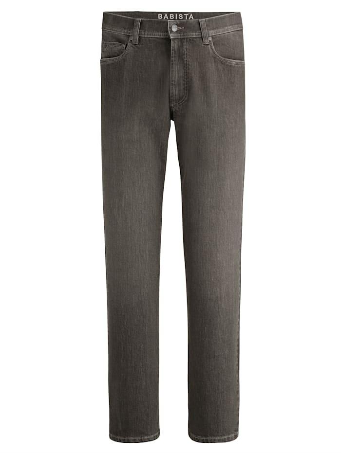 BABISTA Jeans med färgade effekter, Brun