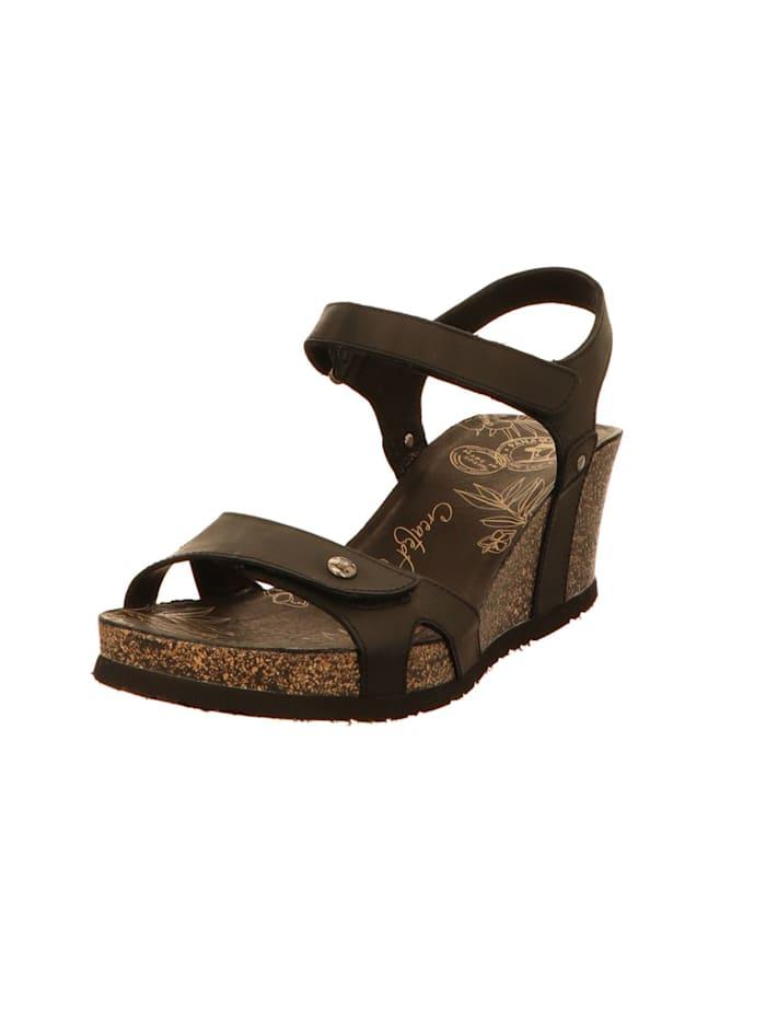 Panama Jack Damen Sandale in schwarz, schwarz