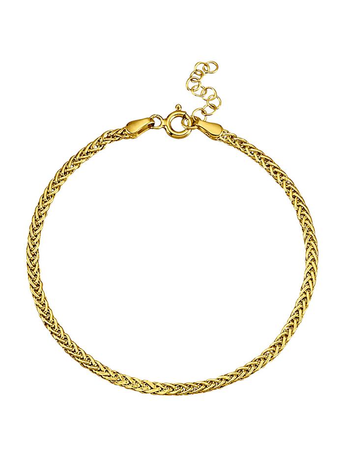 Amara Highlights Bracelet en or jaune 585, Coloris or jaune
