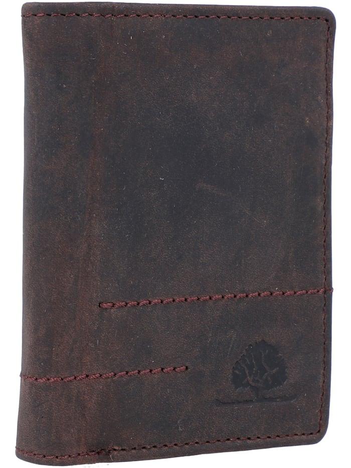 Vintage Revival Geldbörse Leder 8,5 cm