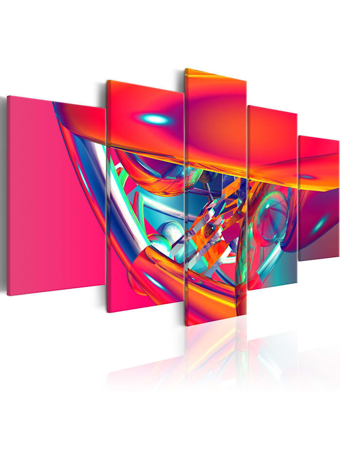artgeist Wandbild Spaceship, mehrfarbig