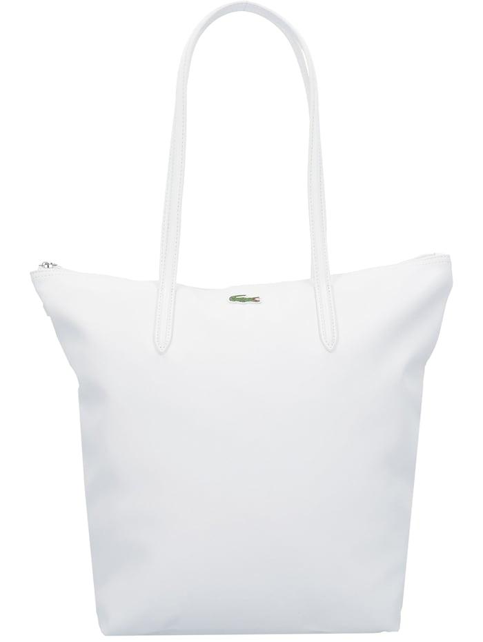 LACOSTE L1212 Concept Vertical Shopper Tasche 35 cm, blanc