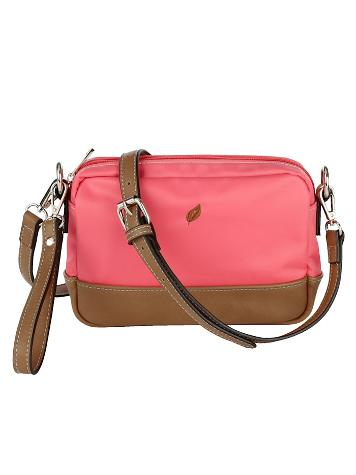 Waldläufer Shoulder bag with great details 4-piece, Coral