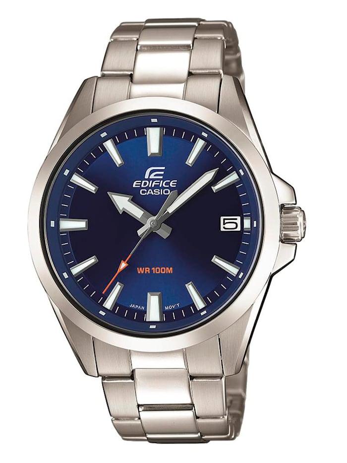 Casio Herrenuhr EDIFICE Classic EFV-100D-2AVUEF, Silberfarben