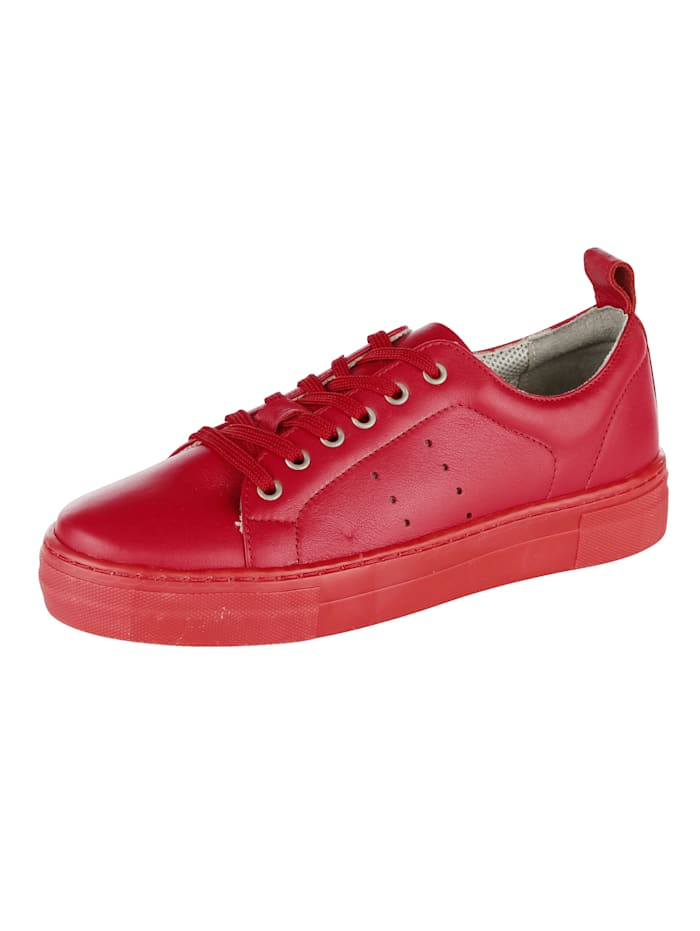 Liva Loop Sneaker in modieuze stijl, Rood