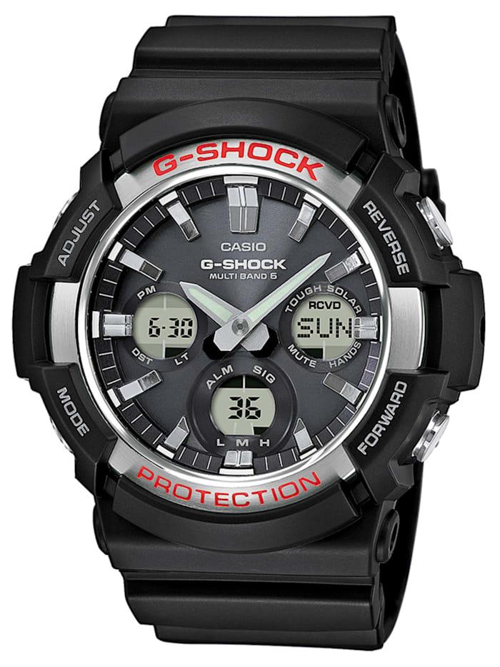 Casio G-Shock AnaDigi Funk Solar Herrenuhr, Schwarz