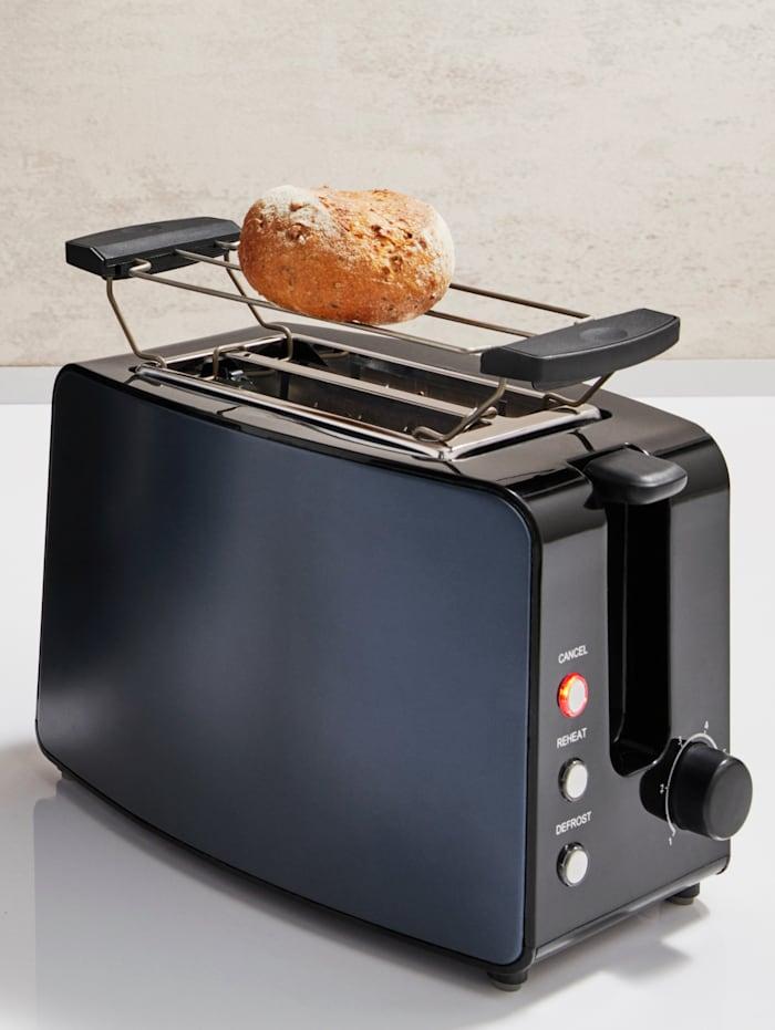 Kalorik Toaster TKG TO 1220, für 2 Brotscheiben, Blau