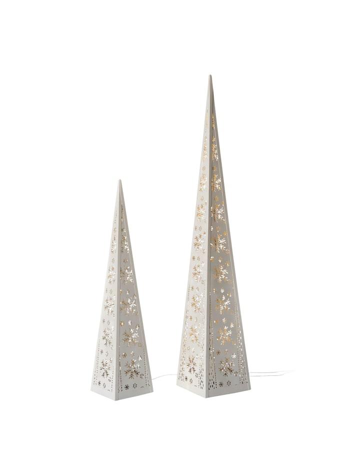 LED-Pyramiden-Set, 2-tlg.