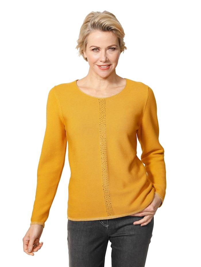 Pullover mit Rippen-Struktur