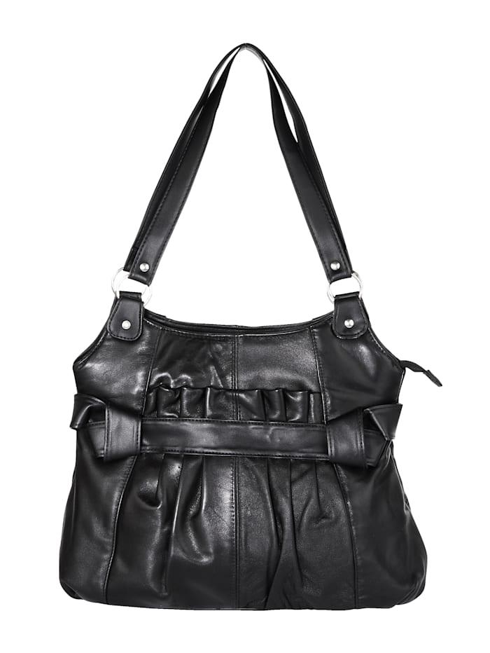 Renato Santi Käsilaukku, musta