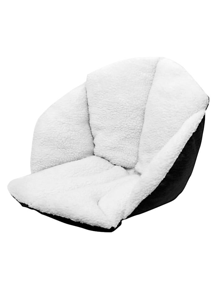Vital Comfort Wende Sitzkissen mit maximalem Komfort auf allen Sitzflächen, Weiß