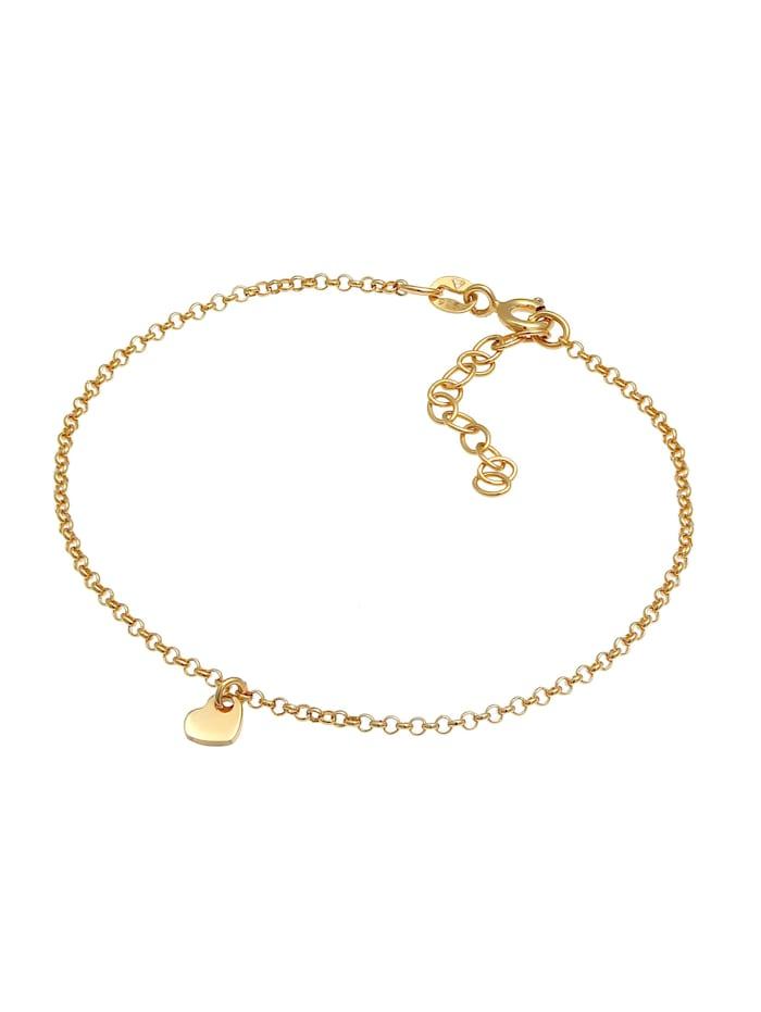 Armband Herz Liebe Romantik Erbskette 925 Silber